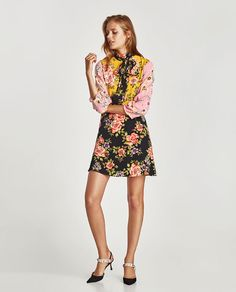 ZARA - WOMAN - FLORAL PATCHWORK DRESS
