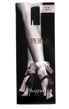 The Terrier and Lobster: Desired: La Perla Toe Shoe Ribbon Socks