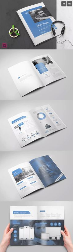 Company Profile Template 16 Pages INDD InDesign A5 Company - free business profile template