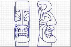 Image result for tiki carvings