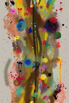 Graffiti Stripe Velvet.......Timorous Beasties