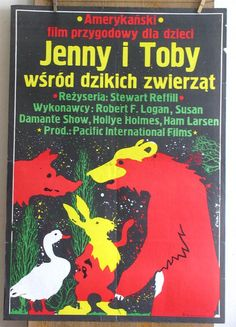 Movie Poste.The Adventures of the Wilderness Family.  Film Poster. Polish poster art. Original Poster. Limited Edition. $49.99, via Etsy.