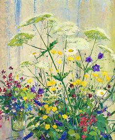Olle Hjortzberg (1872-1959)L Meadow Flowers, 1941