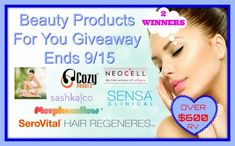 Beauty Products For You Giveaway