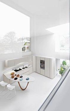 Clean, uncluttered kitchen...