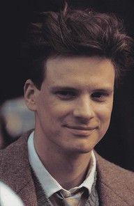 Young Colin Firth.