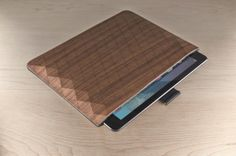 Les étuis durables pour iPad de Grovemade #WoodLovers #design #cases #grovemade