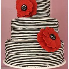 Fab Tim Burton esque Cake- Amanda Oakleaf