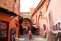 In der Medina von Marrakech