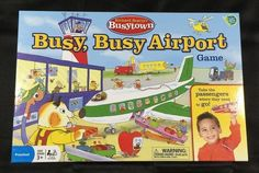 Richard Scarry's Busytown Busy, Busy Airport Game The Wonder Forge…