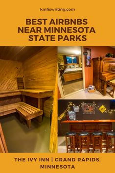 Non-campers: Best Airbnb with a sauna near MN state parks Mounds State Park, Itasca State Park, Silver Bay, Two Harbors, Taylors Falls, Suv Camping, Go Usa, Travel Reviews, Usa Travel