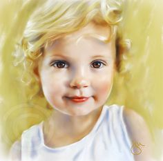Learn How to Paint Portraits using Corel Painter. Painting with Jill Garl