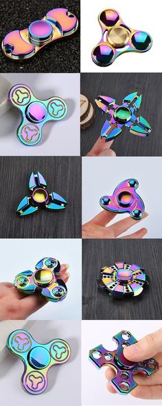 Night Owl Time Killing Tri Fid Spinner Anxiety Relief Finger Toy