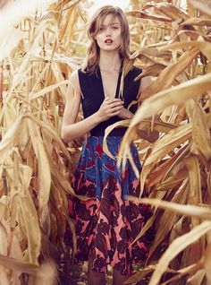 Lindsey Wixson in 'The Future is Bright' editorial by Will Davidson for Vogue Australia, December 2014.