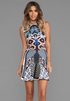 Clover Canyon Cuban Tile Dress in Multi from REVOLVEclothing.com