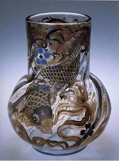Emile Galle -- fabulous art noveau glassblower