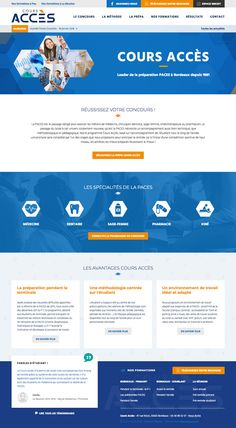 #webdesign #web #agence #website #design #bordeaux #france #school #ecole #medecine #blue #student #university