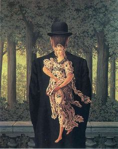 The Prepared Bouquet - Rene Magritte