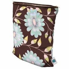 """Planet Wise Diaper Wet Bag Exclusive Print (medium, spring bloom) by Planet Wise. $16.50. Leak free seaming to keep the wet in, and the dry out. Medium: Dimensions 13""""x16"""", holds approx. 8-9 cloth diapers,Large: Dimensions 18""""x21"""", holds approx. 16-17 cloth diapers. Coordinating inner waterproof material and locking zipper are 100% PVC and lead free. Small: Dimensions 8""""x10"""", holds approx. 1-2 cloth diapers. Anything wet, soiled or messy look fashionably chic from the out..."""