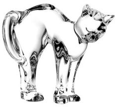 Baccarat Cats (Style No: 2100446) from LuxuryCrystal.Com