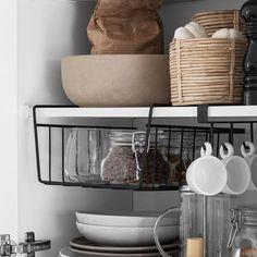 Granit - Smart & funktionell förvaring & inredning | Granit SE Campervan Storage Ideas, Decor Interior Design, Interior Decorating, Compact Living, Home Look, Cozy House, Interior Inspiration, Home Kitchens, New Homes