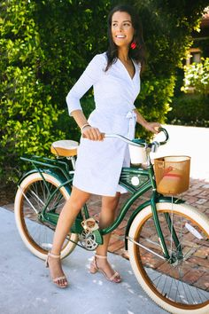 The perfect day dress in Palm Beach .