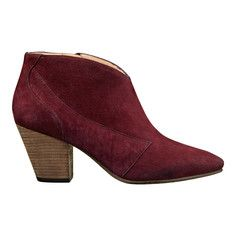 Yoko Bootie, $295, now featured on Fab. :-O I wish I had enough $ for these beauties! Gah I love cranberry!