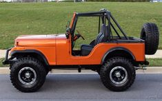 1977 Jeep CJ **BRAND NEW CUSTOM BUILT** with Chevy V8 and EVERYTHING you want!!! for sale: photos, technical specifications, description Cj Jeep, Jeep Cj7, Jeep Wrangler, Old Trucks, Chevy Trucks, Orange Jeep, Goodyear Wrangler, All Terrain Tyres, Jeep Models