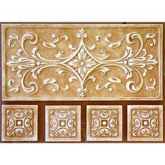 Paris Tile and 4 Medium Medallions by Andersen Ceramics on HomePortfolio