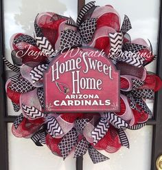 Arizona Cardinals Wreath