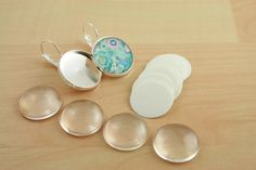 bridal shower craft activity - DIY earrings (be a good listener)