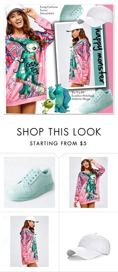 """""""happy monster"""" by paculi ❤ liked on Polyvore featuring Disney"""