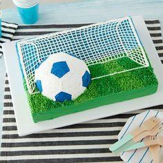 Soccer Net In 2019 Soccer Birthday Cakes Soccer Cake