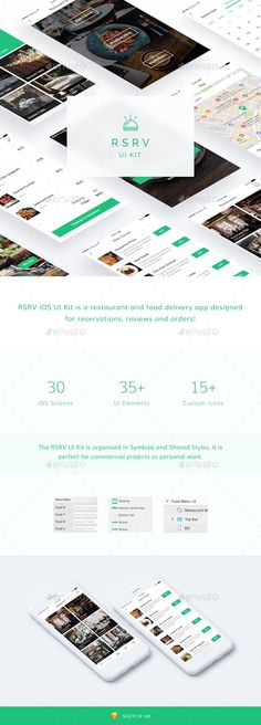 RSRV iOS UI Kit - #User Interfaces #Web Elements