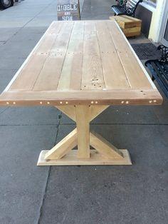Trestle Table Legs, Model #TR10 Heavy Duty, Sturdy Metal Legs, Industrial  Legs, Dining Table Leg Set | Woodworking | Pinterest | Trestle Tables, ...