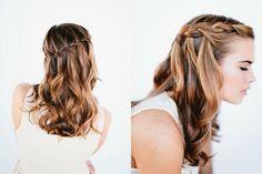 Buceando en la red, nos topamos con algunos sugerentes peinados muy sencillos de hacer, gracias a su paso a paso. ¡Qué guapa estará tu pequeña!