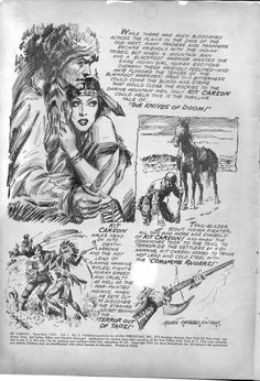 """Master Strokes In my scrap file, under """"Pen and Ink,"""" I found these two tear sheets of illustrations by master penman Everett Raymond Kins. Magazine Illustration, Cute Illustration, Western Comics, Art Students League, Cowboy Art, Book And Magazine, Comic Artist, Figure Drawing, Art Drawings"""
