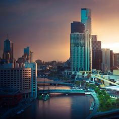 Melbourne City Australia by ►CubaGallery, via Flickr