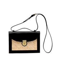 Square Straw Crossbody Bag ❤ liked on Polyvore featuring bags, handbags, shoulder bags, square purse, crossbody purses, shoulder strap handbags, cross body strap purse and strap purse