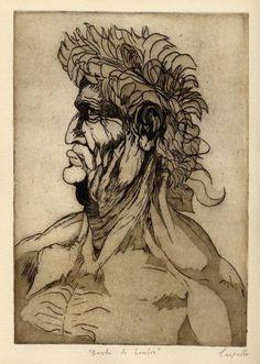 Busto de hombre, después de Leonardo da Vinci