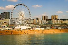 Brighton - Brighton is a delight with its eclectic blend of seaside relaxation, cultural activities, and trendy restaurants to homey cafes.