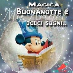 Immagini per Buonanotte amici Whatsapp - Pocopagare.com Good Morning World, Good Morning Good Night, Sweet Dreams, Smurfs, Facebook, Fictional Characters, Cristiani, Video, Disney