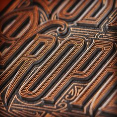 type - lettering by Kevin Cantrell Design