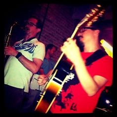 """@thequeenskickshaw's photo: """"Sean Nowell and his Swedish jazz crew heating things up at The Queens Kickshaw tonight."""""""