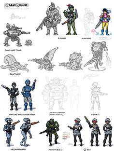 Starguard fan art redesigns