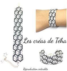 Loom Bracelet Patterns, Seed Bead Patterns, Bead Loom Bracelets, Peyote Patterns, Jewelry Patterns, Peyote Beading, Bijoux Diy, Crystals, Bead Loom Patterns