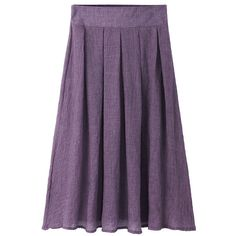 Brief Solid Pleated Button Decoration Women Skirts ($1) via Polyvore featuring skirts, embellished skirt, button skirt, purple skirt, purple pleated skirt and pleated skirt