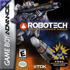 Robotech - The Macross Saga is a Nintendo Game Boy Advance game that you can play online for free on Game-Oldies. Description from game-oldies.com. I searched for this on bing.com/images