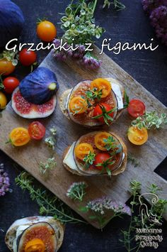 Kulinarne przygody Gatity: Grzanki z figami i serem