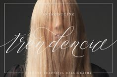 Trendencia Script Free Demo is a stylish calligraphy font that features a varying baseline, smooth line, classic and elegant touch /Volumes/Marketing/_MOM/Design Freebies/Free Design Resources/Dirtyline-Studio_Trendencia-Free-Demo_030117